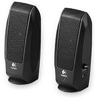 Logitech S120 - Altavoces de 2.3 vatios, Color Negro