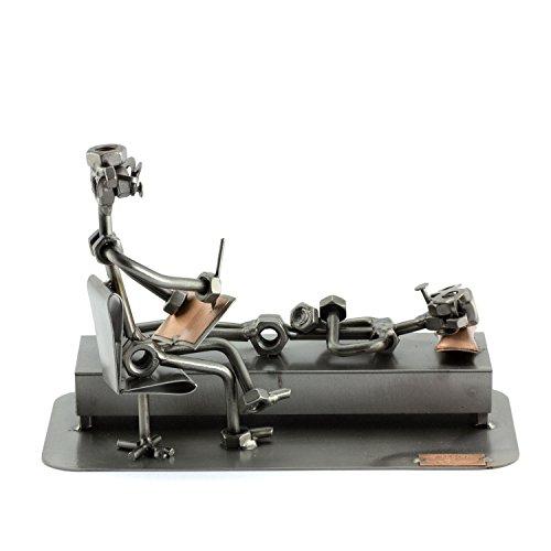 Steelman24 I Psicólogo I Made in Germany I Idea para Regalo I Figura de metalo