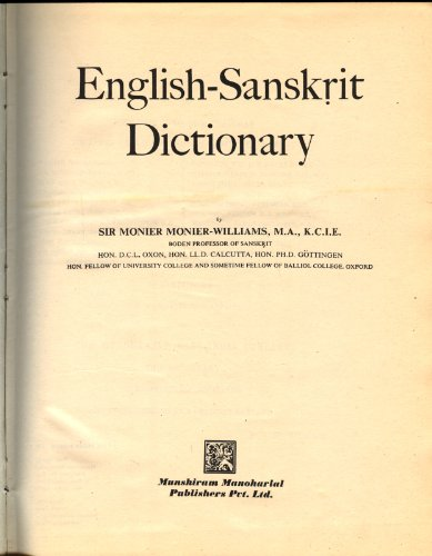 Read Sanskrit-English Dictionary: Etymologically and