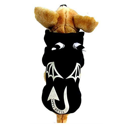 Sforza Hollaween Kostüme für Hunde und Katze Cosplay, Schwarz ()