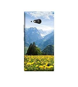Ebby Premium Printed 3D Designer Back Case Cover For Nokia Lumia 730 (Premium Designer Cae)