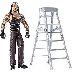 WWE- Wrekkin' Undertaker Action Figure con Accessori, Giocattolo per Bambini 6+ Anni, 15 cm, GGP06