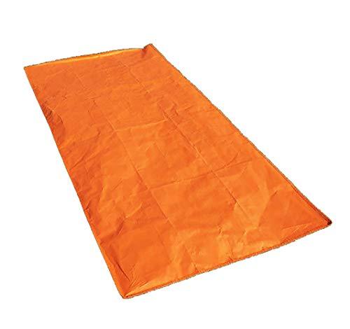 HWCP.CP Sac De Couchage Extérieur Étanche Portables Non-Tissés De Secours D'isolation d'urgence des Fournitures De Sauvetage Taille Orange 100 × 200 (Cm)
