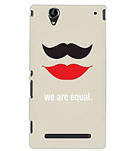 SONY XPERIA T2 ULTRA WE R EQUAL Back Cover by PRINTSWAG