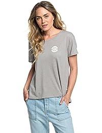 51f2f4c65aa3 Roxy Cruz Life A - T-Shirt col Rond pour Femme ERJZT04381