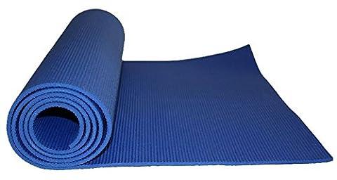 SWEETY HOUSE Tapis de yoga bleu