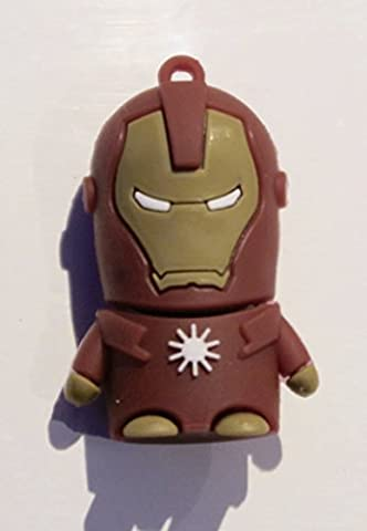 Iron Man Marvel 32 GB Neuheit USB 2.0 Flash Memory Stick Drive Pen (Neuheit Usb-memory Stick)