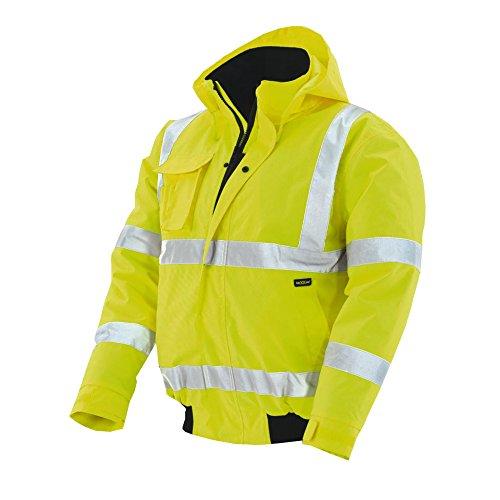 teXXor–Giacca catarifrangente Pilot Whistler impermeabile, antivento giacca da lavoro, Giallo, 4118