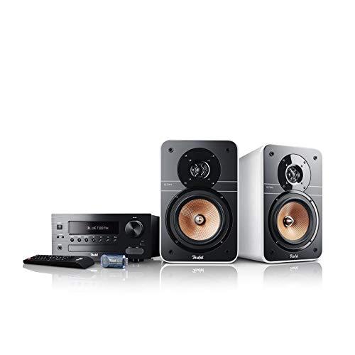 Teufel Ultima 20 Kombo Weiß Stereo Lautsprecher Musik Sound Hochtöner Mitteltöner Bass Speaker High End HiFi Tieftöner Schalldruck Soundanlage