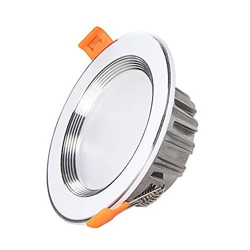 3W/5W/7W/9W/12W/15W Ultra Slim Spotlight LED Eingebaute Fahrer Strahler Europäischen Einbau Deckenstrahler Downlight Fitting Warmem Licht/Weißes Licht Kommerziellen Panel Deckenbeleuchtung -
