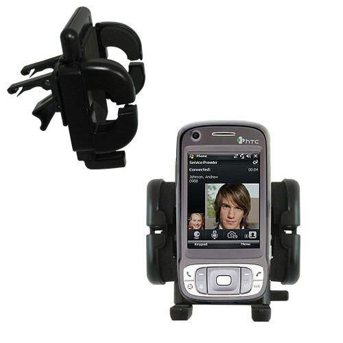 Mit Lüftungsklemme befestigter Cradle-Halter im Fahrzeug / Auto für das HTC TyTN II mit Lebenslange Garantie