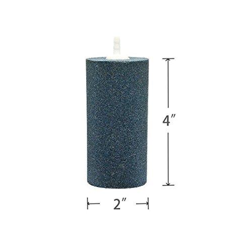 LVEDU 4PCS Air Stone 4 X 2 Inch Aquarium and Hydroponics Air Pump Large Air Stone Cylinder (4 PCS)