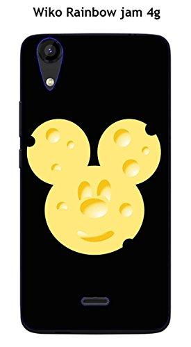 Coque Wiko Rainbow Jam 4G design Mickey