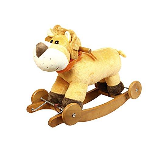 koakid Lion à bascule Lion à bascule avec musique mignon enfants enfant...