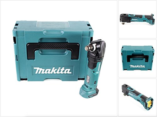 Makita DTM 51 ZJ 18V Li-Ion Akku Multifunktionswerkzeug Solo im Makpac - ohne Zubehör, ohne Akku, ohne Ladegerät