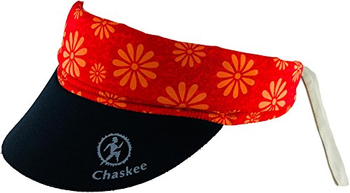Chaskee Chaskee Snap Cap Visor Happy Floswers
