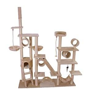 arbre chat beige xxl animalerie. Black Bedroom Furniture Sets. Home Design Ideas
