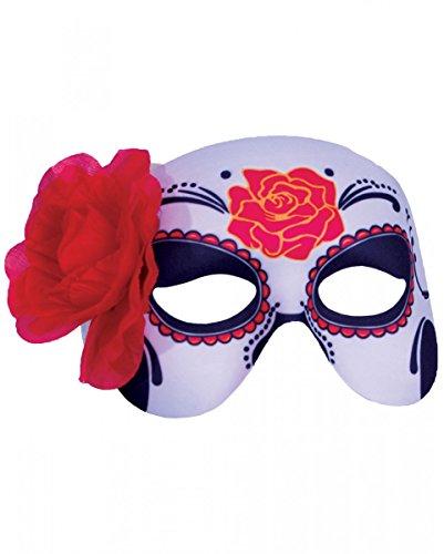 os Muertos Augenmaske für Damen (Augen Des Himmels Kostüme)