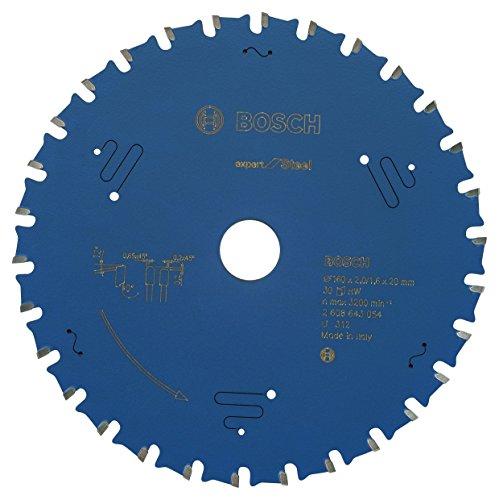 Preisvergleich Produktbild BOSCH Kreissägeblatt Expert für Steel, 160 x 20 x 2,0 mm, 30, 2608643054