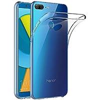 AICEK Cover Honor 9 Lite, Cover Huawei Honor 9 Lite Silicone Case Molle di TPU Trasparente Sottile Custodia per Honor 9 Lite (5,65 Pollici)
