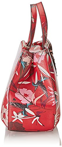 Guess Hwff6693050, Borsa a Mano Donna, 12 x 22.5 x 28.5 cm (W x H x L) Rosso (Red Floral)