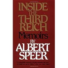 Inside the Third Reich: Memoirs