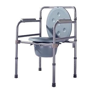 MYT Simple Seat Toilettenstuhl Senioren Menschen Schwangere Frauen Behinderte Toilette WC Sitz Sitz Stuhl Stahl Stuhl 90X53X49CM