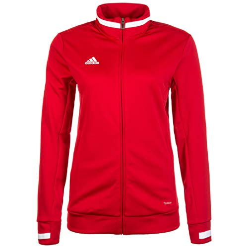 adidas Damen T19 TRK JKT W Jacket, Power red/White, L