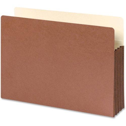 Datei-jacke Tab End (SMEAD Datei Tasche, gerade geschnittene Tab, 3–1/5,1cm Expansion, Legal Größe, Redrope, 10Stück pro Box (74264))