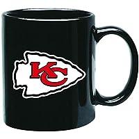 Kansas City Chiefs NFL Offizielle Tasse, Becher, Kaffeetasse Black Glossy Groß 425 ml