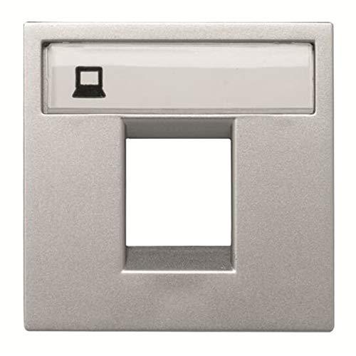 Niessen - n2218.1pl tapa ventana 1 conector zenit plata Ref. 6522015162