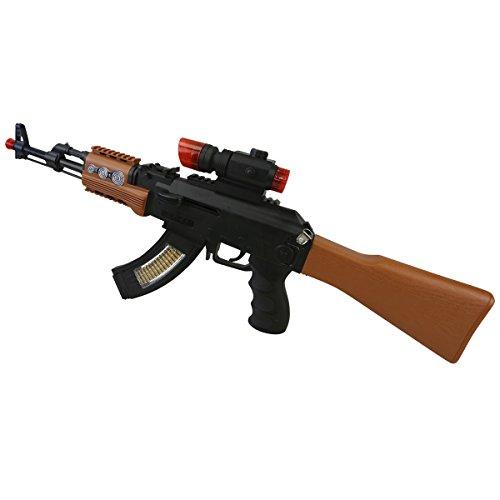 Kombat AK47Pistola Giocattolo con luci e Suoni