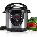 Newcook Delicious programmierbarer Schnellkochtopf, elektrisch, 15 Funktionen, 1.000 W, Kapazität 6...