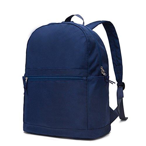 Semplice zaino/borsa per uomini e donne/Zaino stile College/Borsa da viaggio-C C