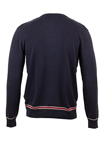 Tom Tailor Herren Pullover 3018267.90.10 college sweater with cable knitted navy-6800