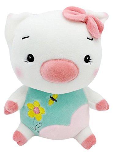 Good Night Dessin animé Séance Cochon Peu Peluches Jouet pour Enfants Cadeaux D'anniversaire, 20cm