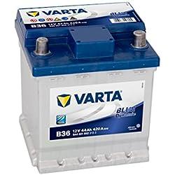 Varta Blue Dynamic B36 Batterie Voitures, 12 V 44Ah 420 Amps (En)