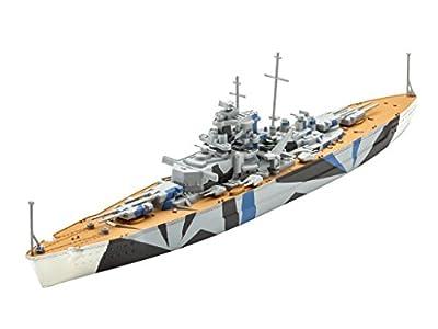 Revell - Maquette - Bateau de Guerre Allemand Tirpitz, 05822