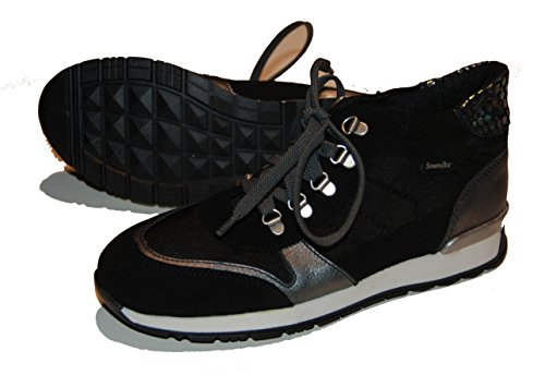 Däumling Kinderschuhe, halbhohe Schuhe, Herbstschuhe, Lederschuhe schwarz (Turino schwarz)