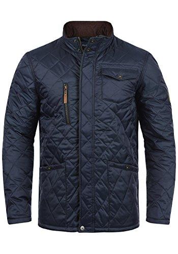 Blend Camilo Herren Steppjacke Übergangsjacke Jacke Mit Stehkragen, Größe:L, Farbe:Navy (70230)