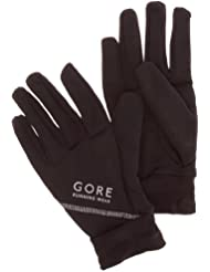 GORE RUNNING WEAR Essential - Guantes de running, color negro, talla 7