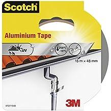Scotch 47011548  -  Cinta de aluminio (aluminio, 15 m x 48 mm)