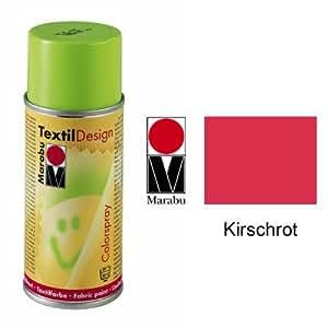 Marabu Textil Design Colorspray, 150ml, Kirschrot