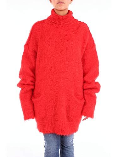 Maison Margiela S51HA0858S16425 Pullover Damen rot S