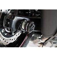 2016 / /Black SW Motech STP 22.176.10500//W STURZPAD Kit for Front Axle for Ducati Scrambler Desert Sled