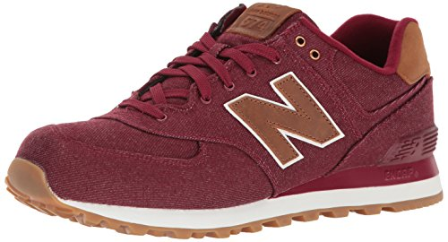 new-balance-men-574-15-ounce-canvas-low-top-sneakers-red-burgundy-75-uk-41-1-2-eu