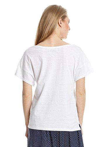 Springfield T-Shirt Weiß