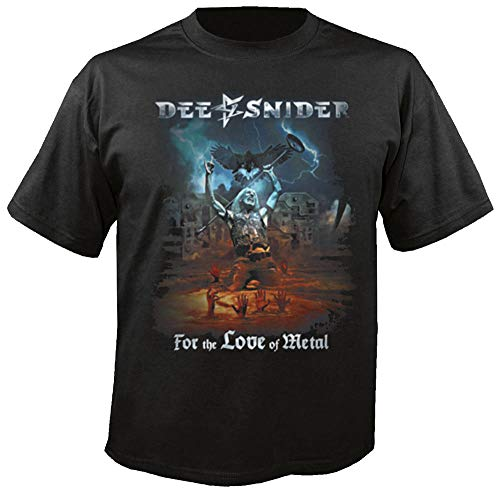 DEE Snider - for The Love of Metal - T-Shirt Größe L (Sister-t-shirt Twisted)