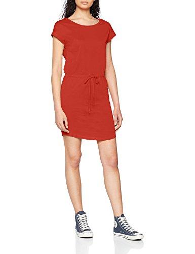 ONLY NOS Damen Kleid Onlmay S/S Dress Noos, Rot (Flame Scarlet), 42 (Herstellergröße: XL)
