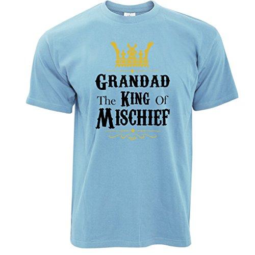 Grummel The King Of Mischief Herren T-Shirt Sky Blue